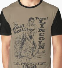 Abraham Lincoln 1860 Presidential Campaign Graphic T-Shirt