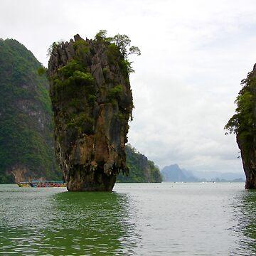 Phangnga Bay - Thailand by ecoeye