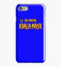 The Amazing Koala-Mask iPhone Case/Skin