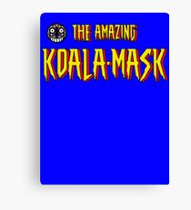 The Amazing Koala-Mask Canvas Print