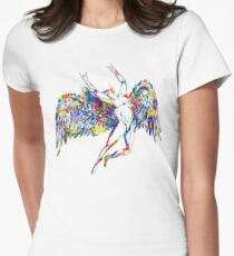 ICARUS THROWS THE HORNS - paint splotches  ***FAV ICARUS GONE? SEE BELOW*** T-Shirt