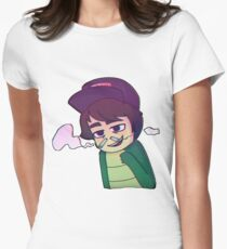 LeafyIsHere Women's Fitted T-Shirt