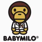 Baby Milo A BATHING APE by gailjbrown