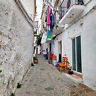 Alleys of Ibiza town. by naranzaria