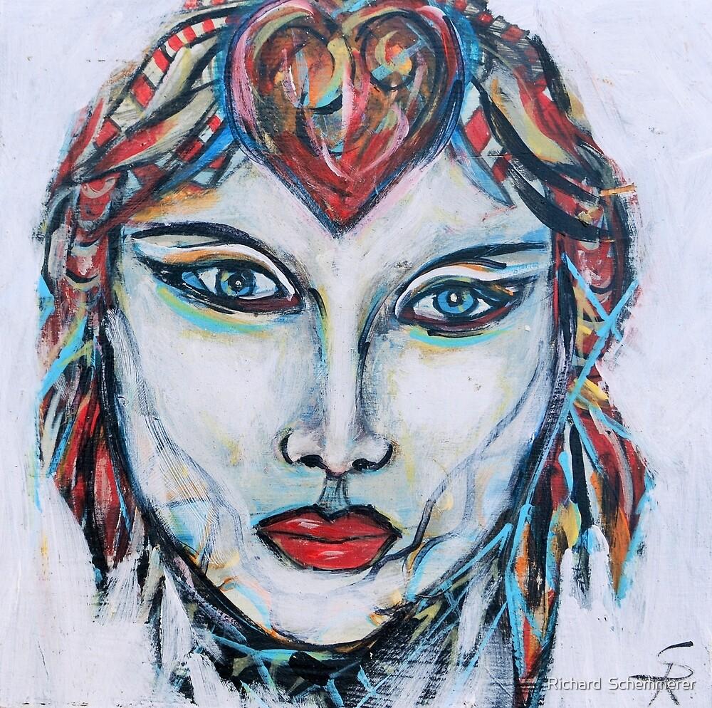 Mystique by Richard  Schemmerer