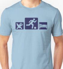 Eat, play, sleep - Football, Soccer Unisex T-Shirt