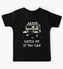 Off Road 4X4 Rover Jeep Hilux AWD 90 110 Cruiser Kids Tee