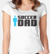 Soccer Dad Women's Fitted Scoop T-Shirt