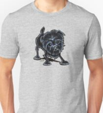 Affenpinscher at Play T-Shirt