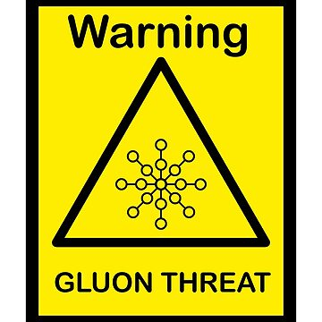 SCP Warning - Gluon Threat by xebec