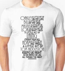 A Little Bit of Hiddles - Dark Unisex T-Shirt