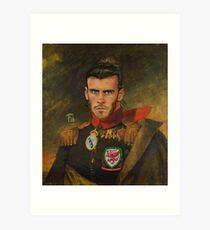Gareth Bale Duke of Wales Art Print
