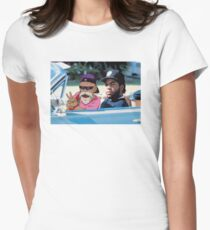 Ice Cube x Master Roshi Womens Fitted T-Shirt