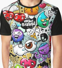Graffiti grunge characters Graphic T-Shirt