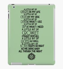 A Little Bit of SPN - Dark iPad Case/Skin