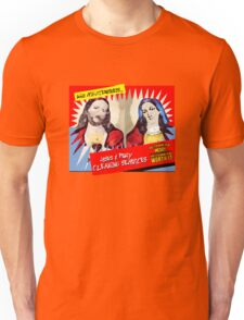 Jesus and Mary Cleaning Services Unisex T-Shirt