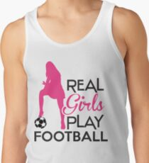 Real girls play football T-Shirt