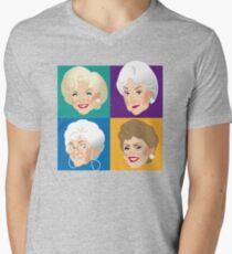Freunde & Vertraute T-Shirt mit V-Ausschnitt für Männer