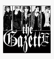 THE GAZETTE JAPAN ROCK BAND Photographic Print