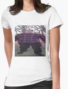 Scarce is Fat Womens Fitted T-Shirt