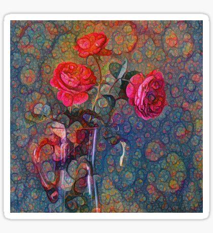 Roses #DeepDreamed Sticker