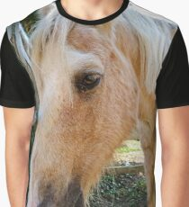 Horse at the gate Graphic T-Shirt