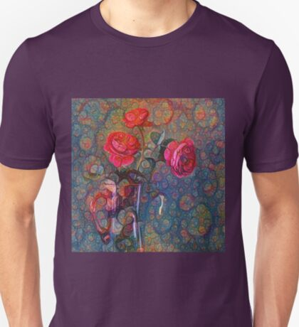 Roses #DeepDreamed T-Shirt