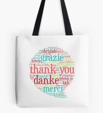 Thank you bubble Tote Bag