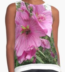 Bee in flower Contrast Tank
