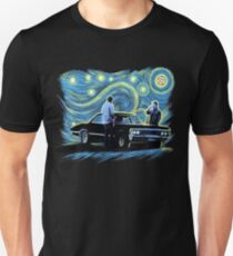 supernatural starry night sam dean winchesters  baby j2 T-Shirt