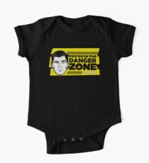 Sterling Archer You're in the Danger Zone One Piece - Short Sleeve