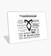 Shadowhunters Quotes Laptop Skin