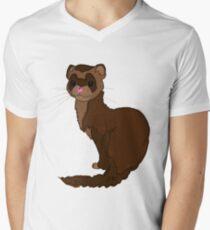 Little Sable Mens V-Neck T-Shirt