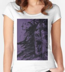The Pain (Purple Edition) Women's Fitted Scoop T-Shirt
