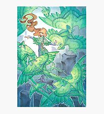 dancing wind dragons Photographic Print