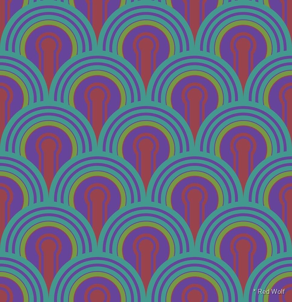 Geometric Pattern: Keyhole Arch: Deedree Daniel: Light by * Red Wolf