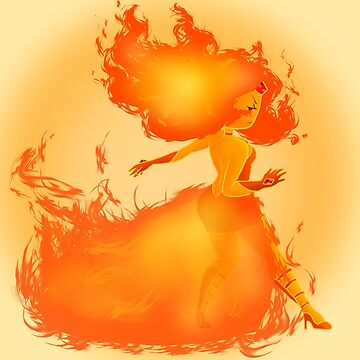 Flame Princess by Phishritzy