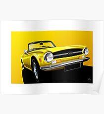 Poster artwork - Triumph TR6 Poster
