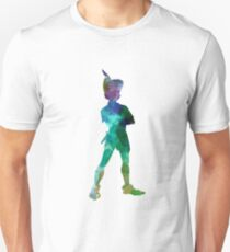Peter Pan in watercolor Unisex T-Shirt