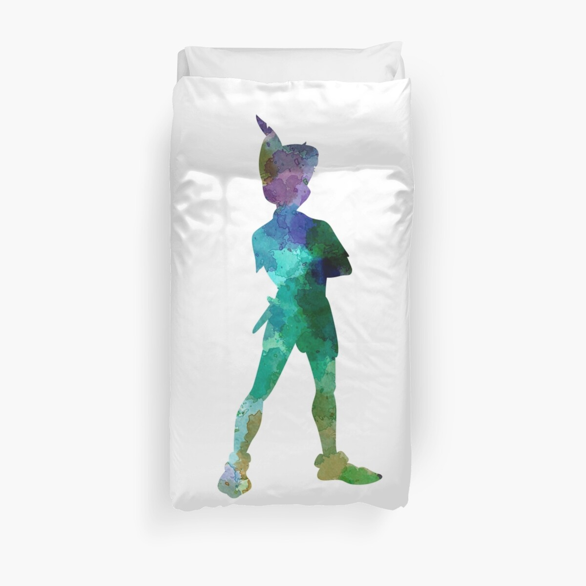 Quot Peter Pan In Watercolor Quot Duvet Covers By Paulrommer