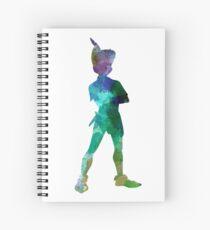 Peter Pan in Aquarell Spiralblock