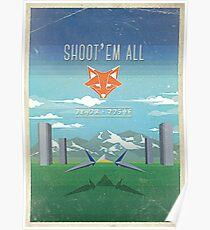 SHOOT'EM ALL - INSPI STAR WING Poster