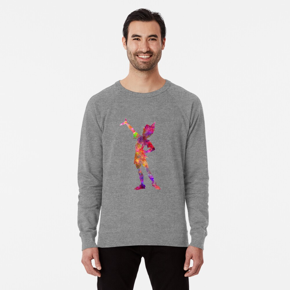 Peter Pan in Aquarell Leichter Pullover
