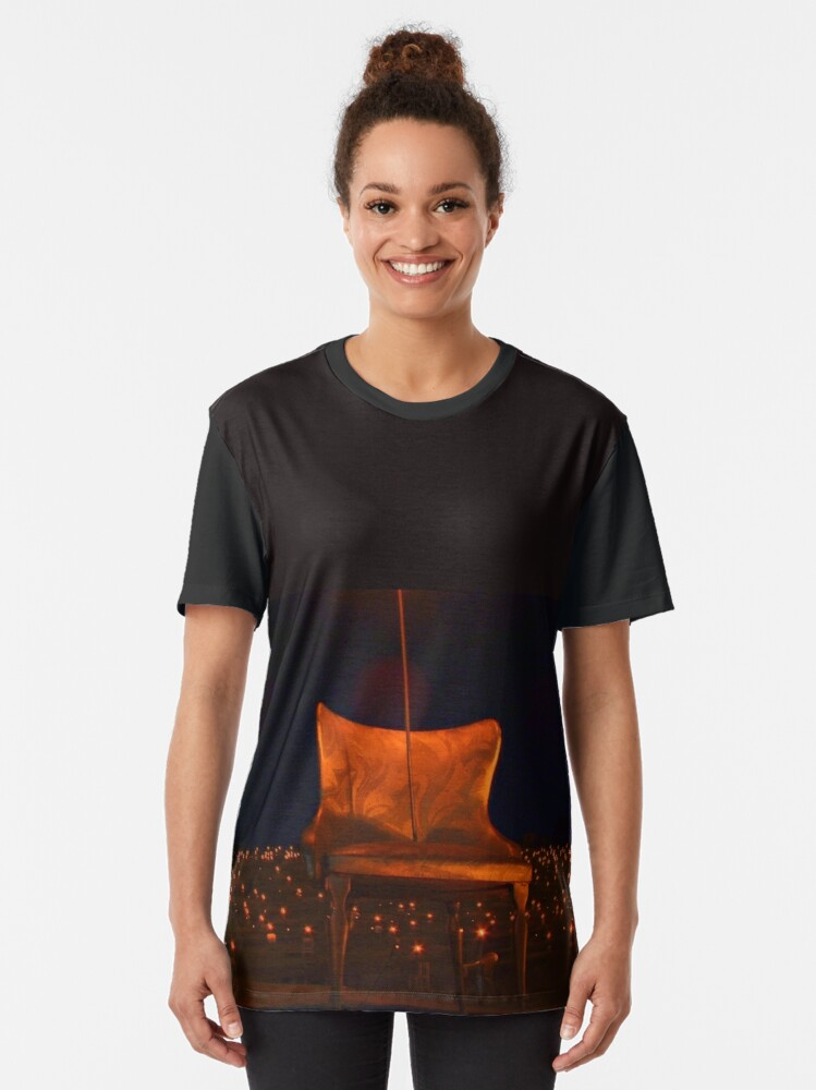 Alternate view of vincere la sorte 1 Graphic T-Shirt