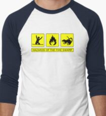 Hazards of The Fire Swamp Men's Baseball ¾ T-Shirt