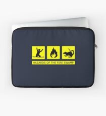 Hazards of The Fire Swamp Laptop Sleeve