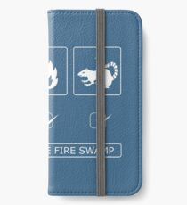 I survived the fire swamp iPhone Wallet/Case/Skin