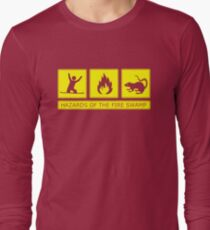 Hazards of the Fire Swamp Long Sleeve T-Shirt