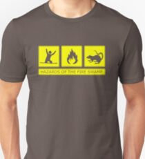 Hazards of the Fire Swamp Unisex T-Shirt