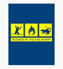 Hazards of the Fire Swamp Photographic Print